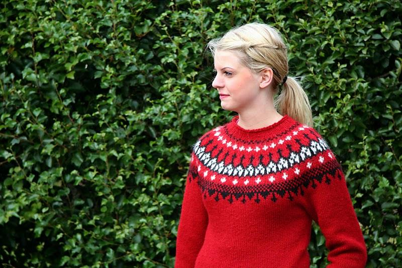 el jersey típico de Islandia