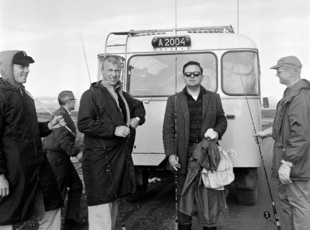 astronautas del Apolo en Islandia