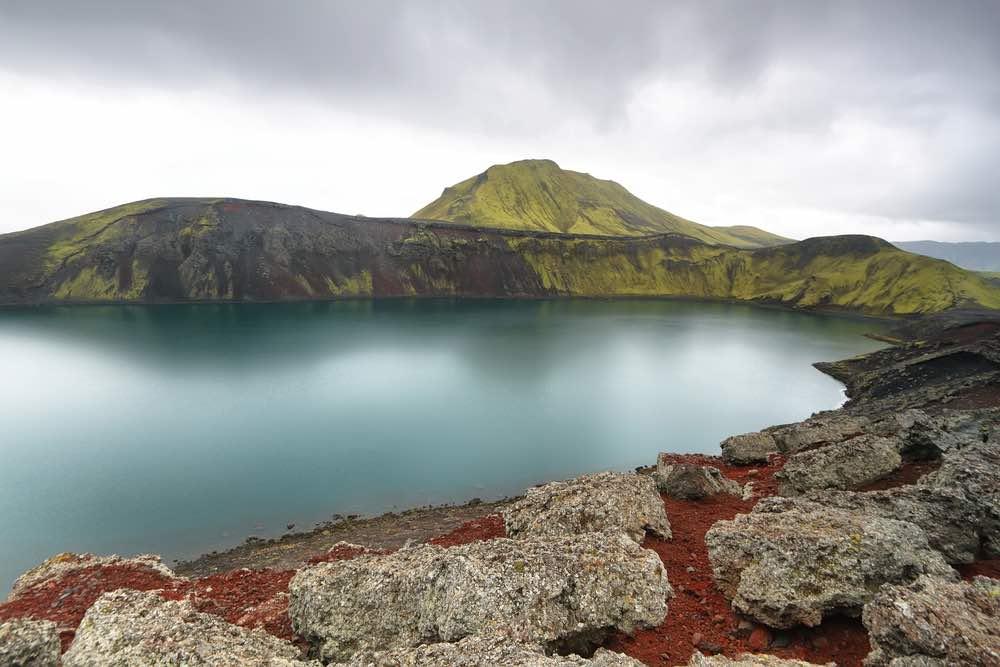 Hnausapollur de camino a Landmannalaugar