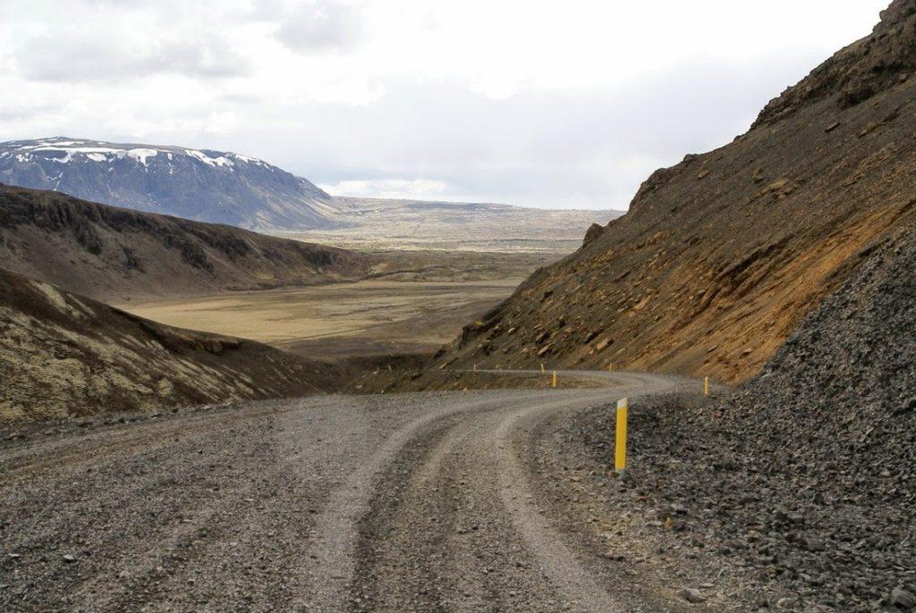 550: La ruta de Kaldidalur / Kaldidalsvegur en Islandia