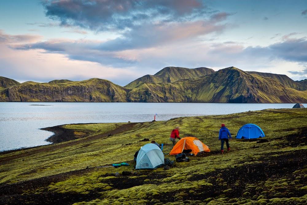 Acampar en Islandia: ¿puedo acampar y dormir en cualquier lugar?