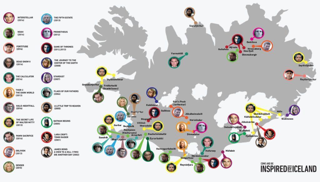 Juego de Tronos, Star Wars,... Cine made in Islandia!