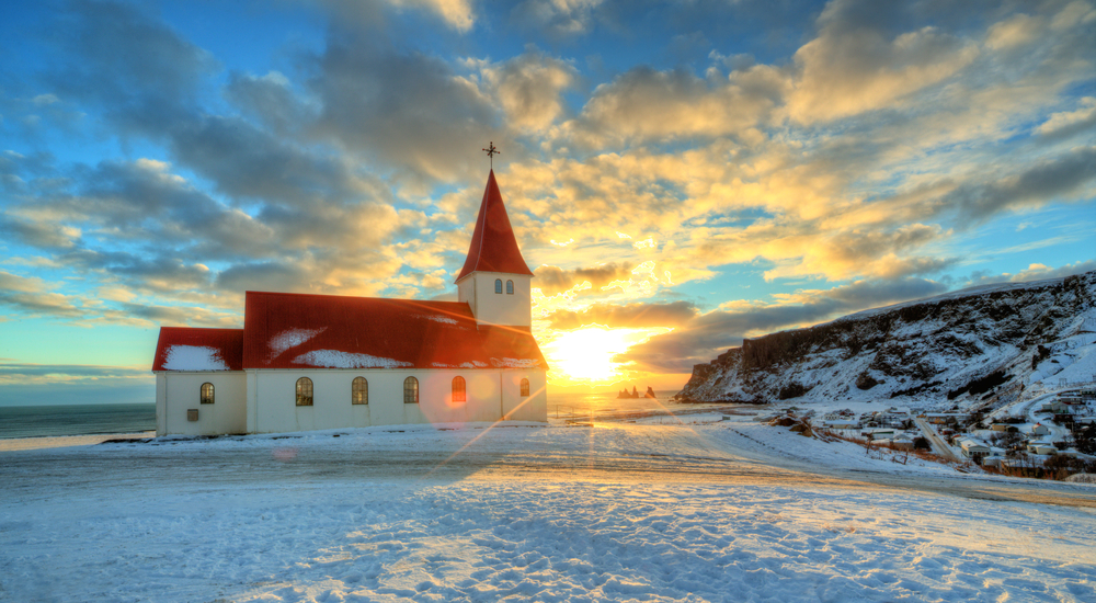 Vik es un punto principal y para en la carretera circular de Islandia