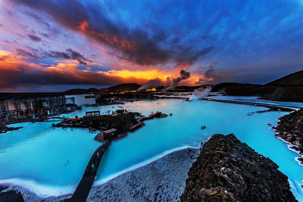 El Blue Lagoon es uno de los sitios más emblematicos par sacar fotos en Islandia