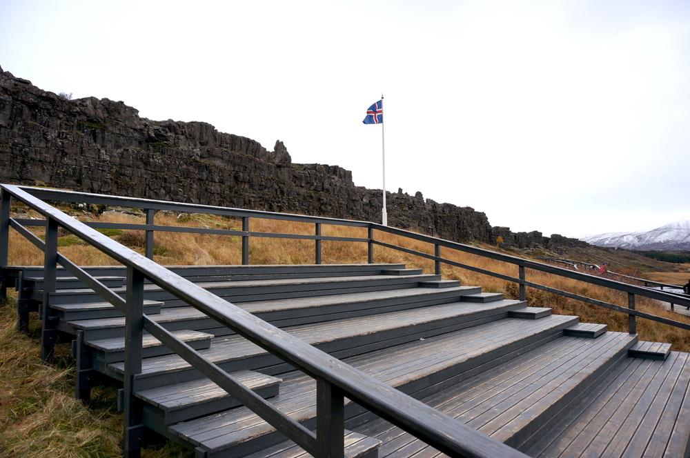 Thingvellir primer sitio donde se representó al gobierno Islandés