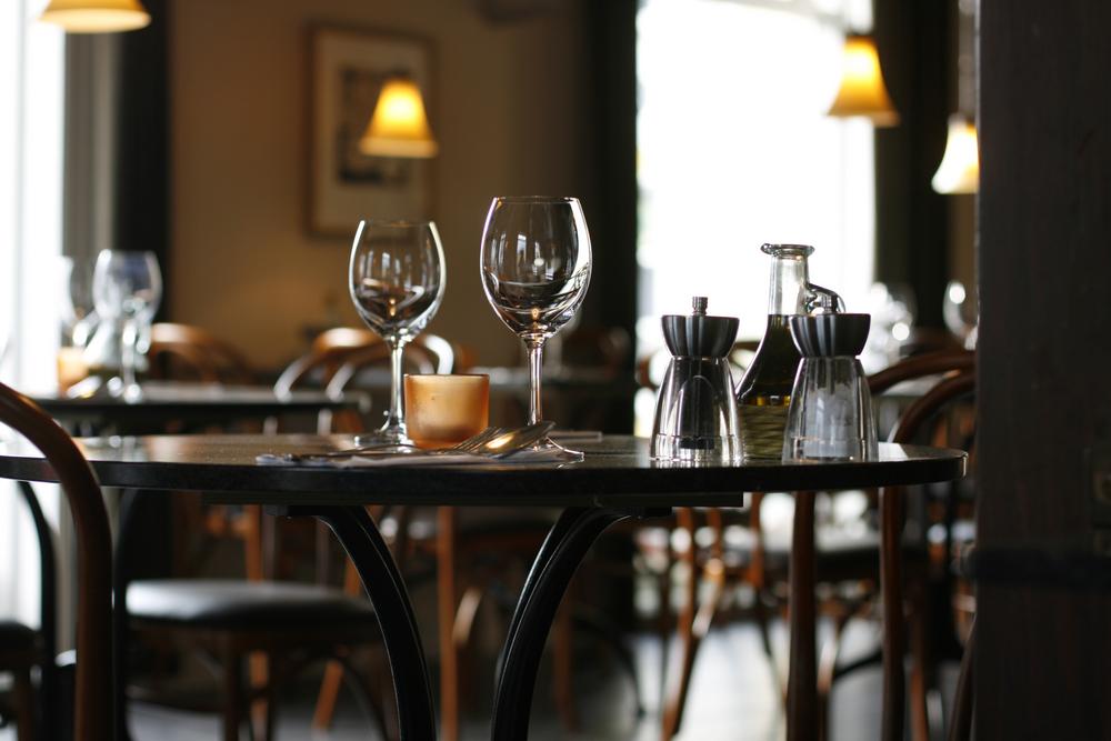 Mesa en un restaurante en Reikiavik