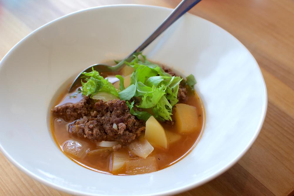 Los platos estofados y de cuchara son esenciales en la cocina Islandesa