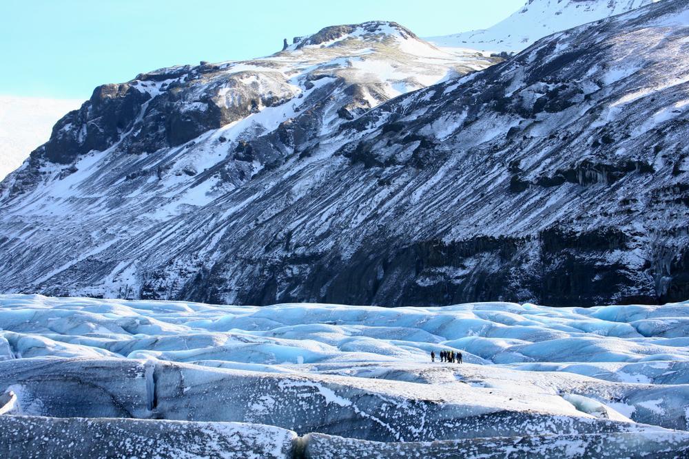 Paisaje glaciar usado para múltiples escenas de Juego de Tronos