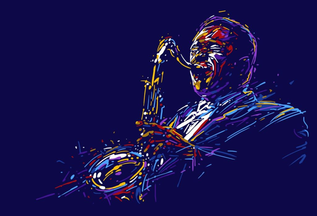 saxofonista, músico clásico del Festival de Jazz de Reikiavik