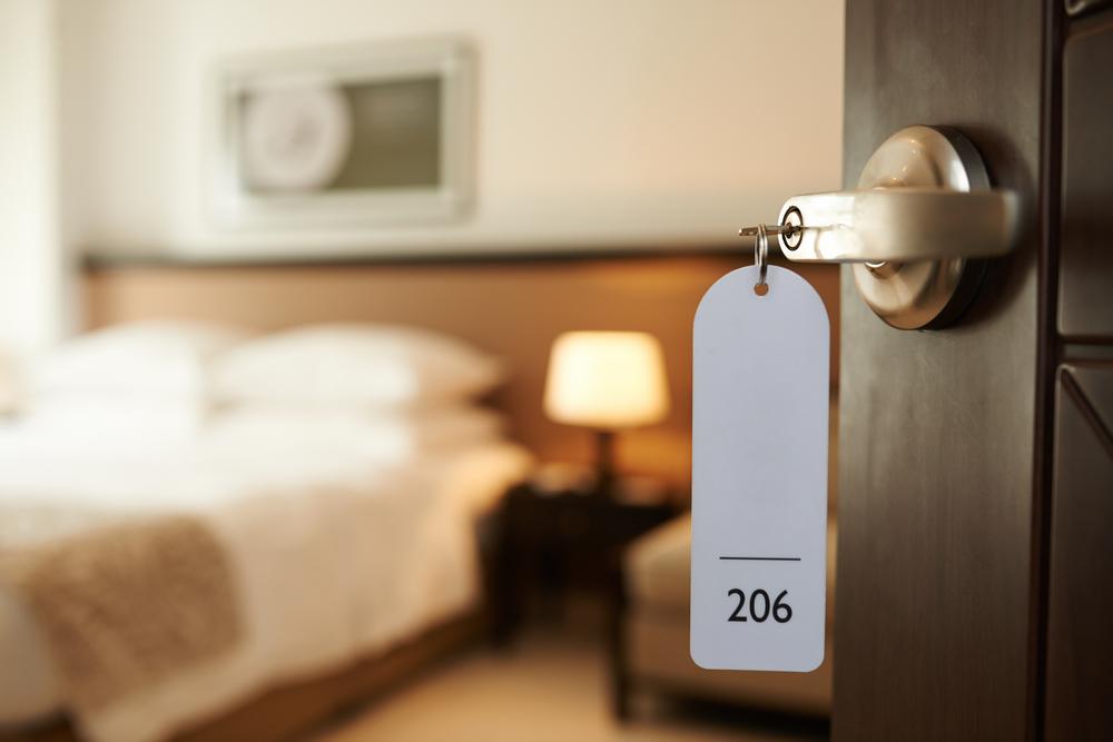 Habitación de hotel en Vík