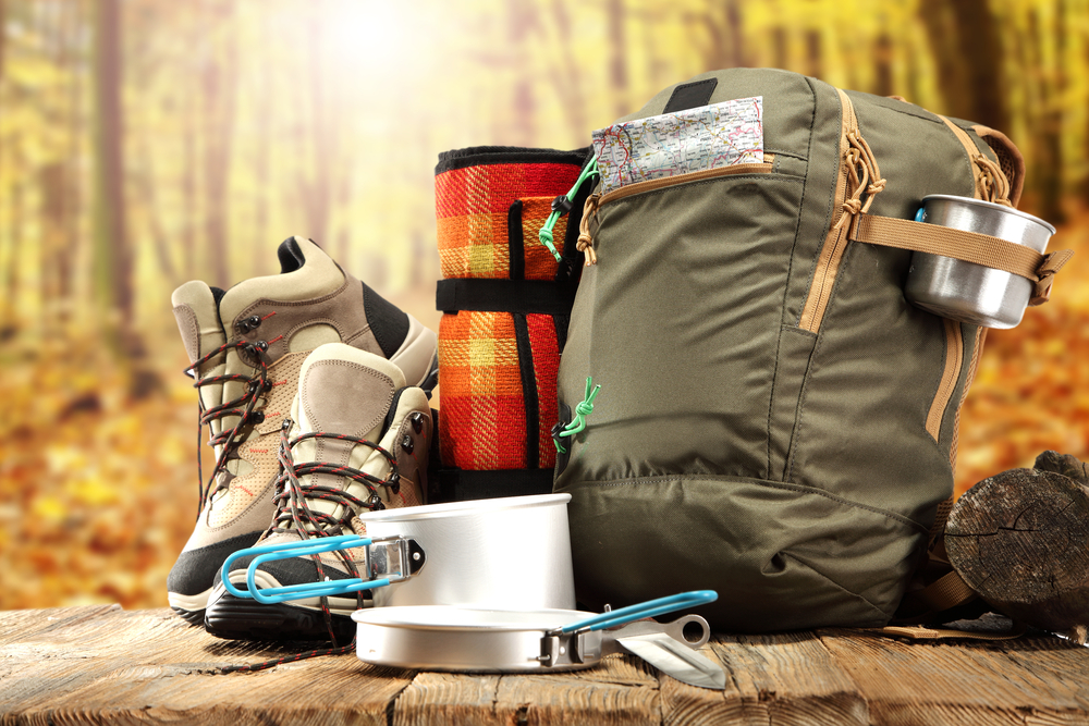 Material completo de Camping