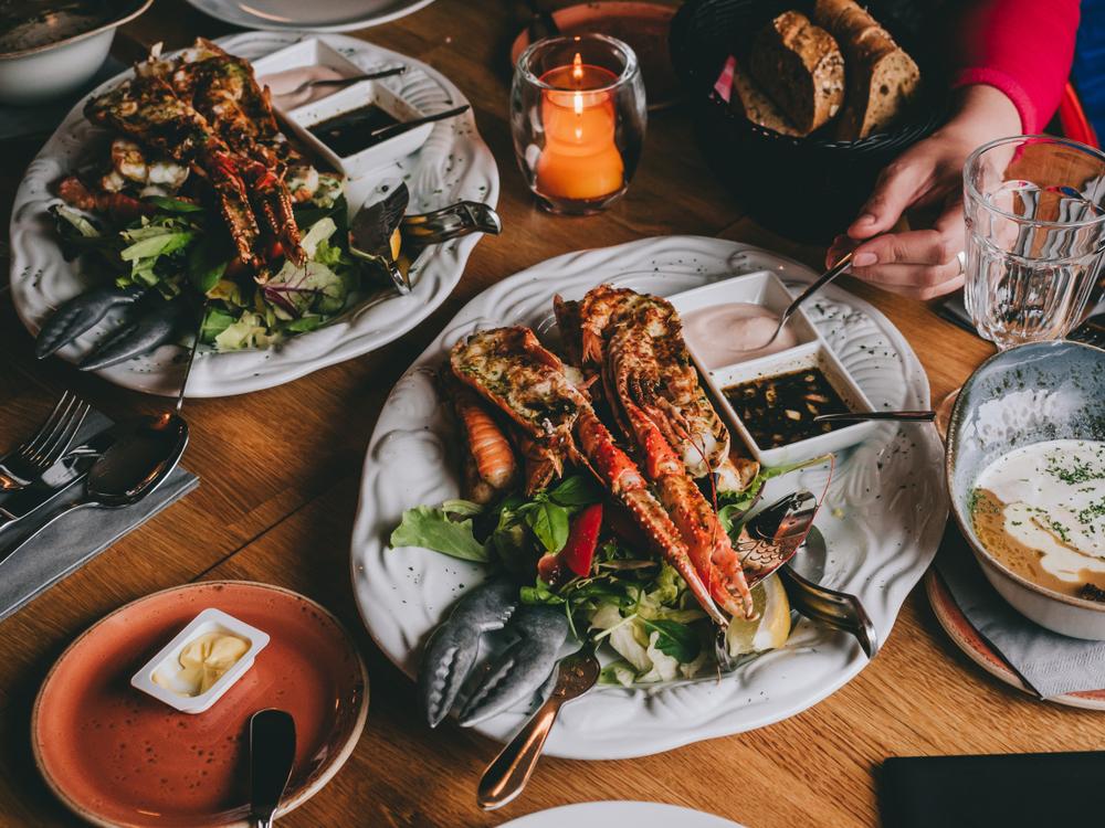 Los mariscos están muy presentes en los mejores restaurantes de Reikiavik