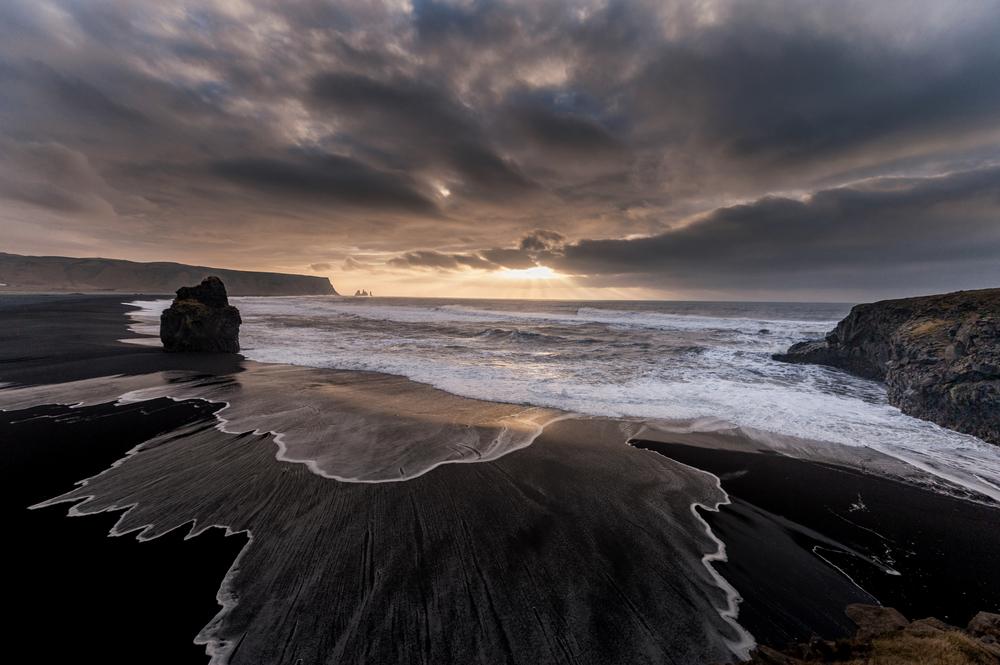 Playas negras de Vík - Recorrer Islandia en invierno día 3