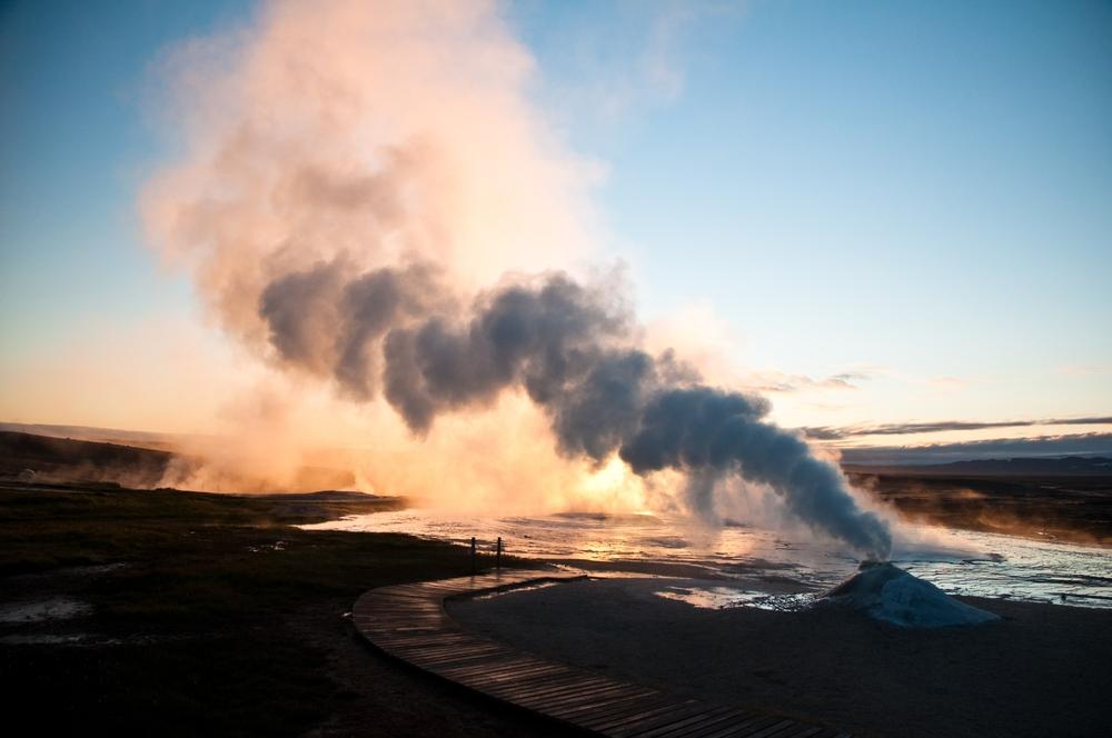 En Islandia hay un gran numero de volcanes, entre ellos está Katla
