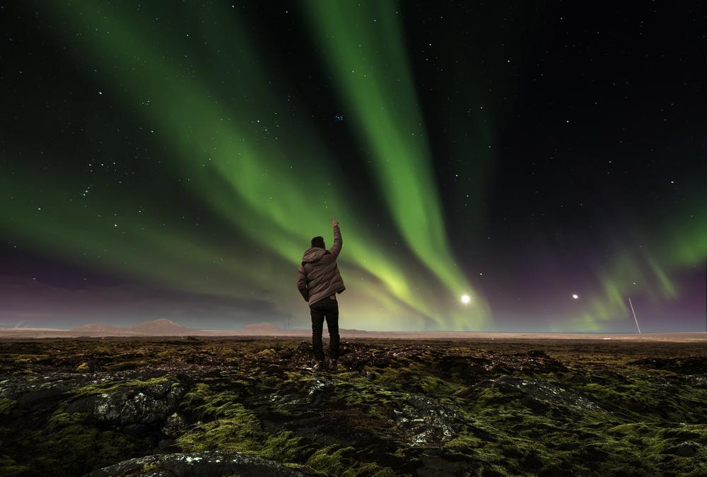 Las Auroras Boreales son muy visibles en Islandia