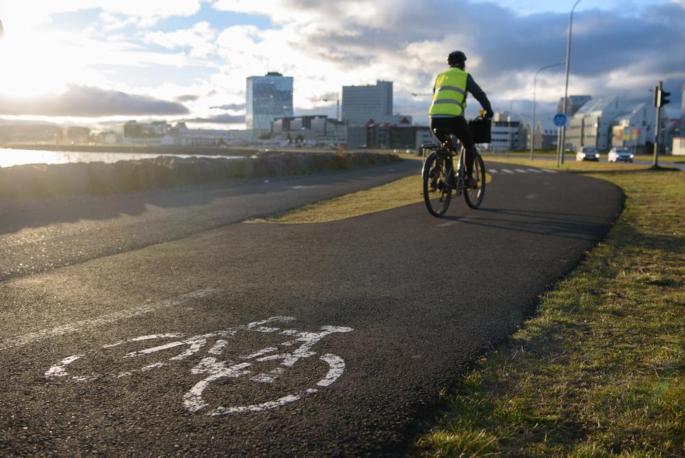 Ciclista por Reikiavik