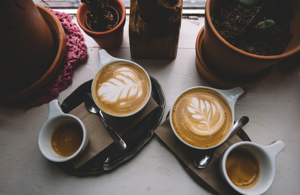 Café en una de las mejores cafeterias de Reikiavik