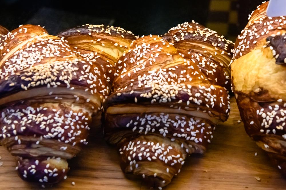 Bollos de la panadería Sandholt