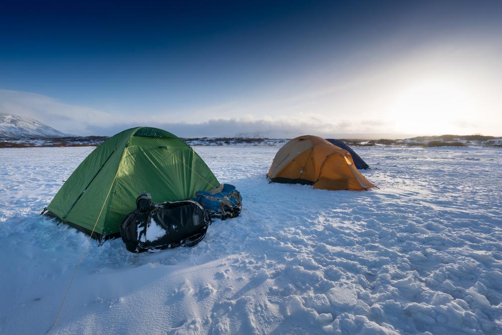 Acampar en Islandia en invierno es posible en campings invernales