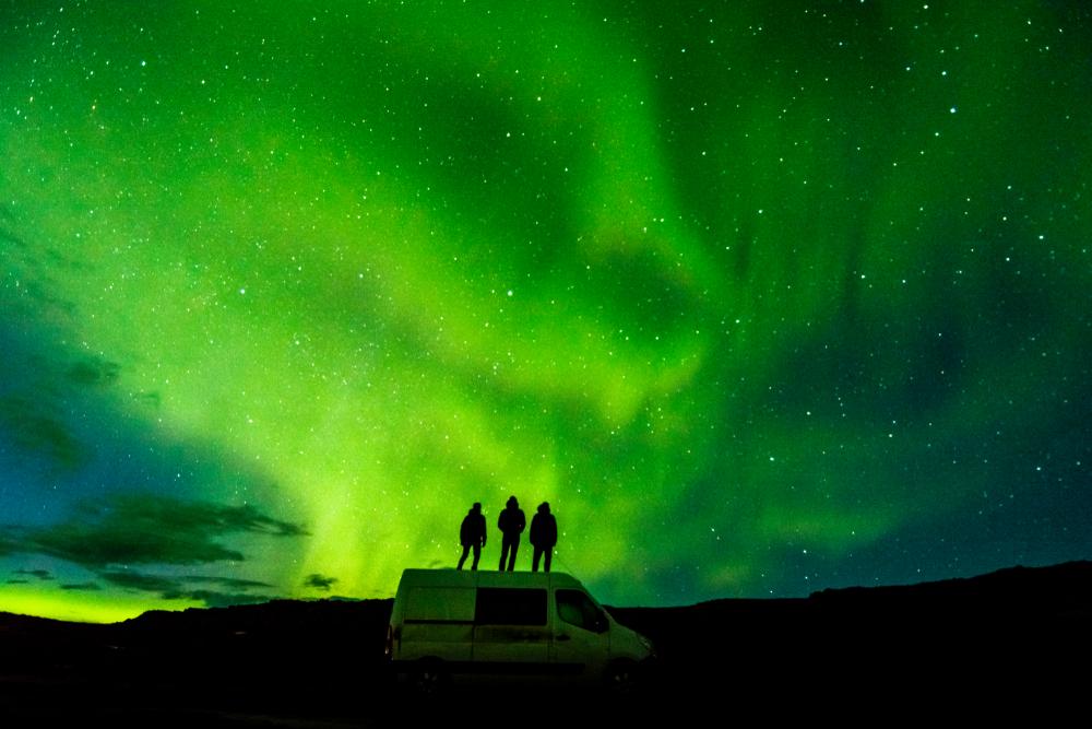 Camper por las carreteras Islandesas