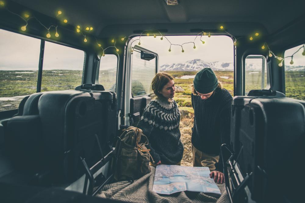 Conduciendo una Camper por las carreteras F