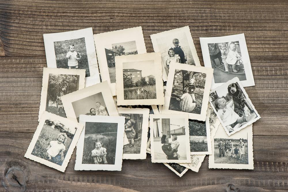 Fotos de familia antiguas de donde derivan los apellidos