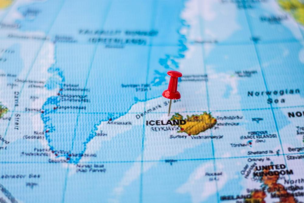 Islandia en el mapa, país que debes añadir como destino turístico en tu lista