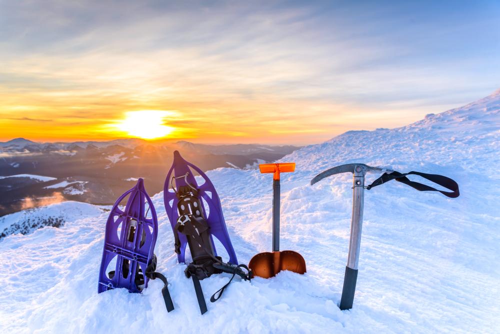 equipamiento de senderismo glaciar en islandia