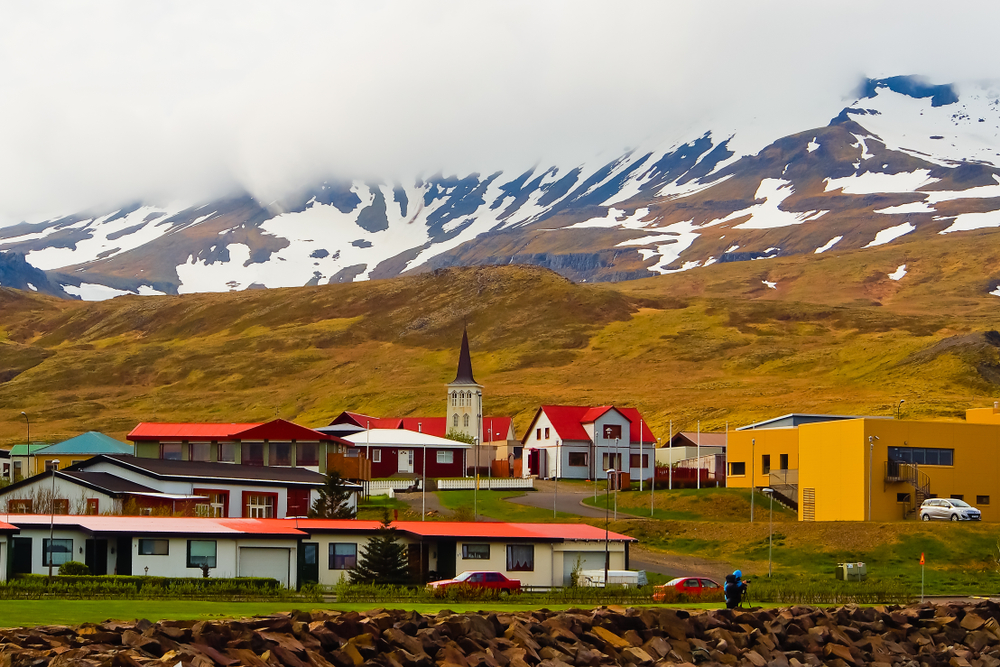 Stykkishólmur pueblo pesquero en la Península de Snaefellsness