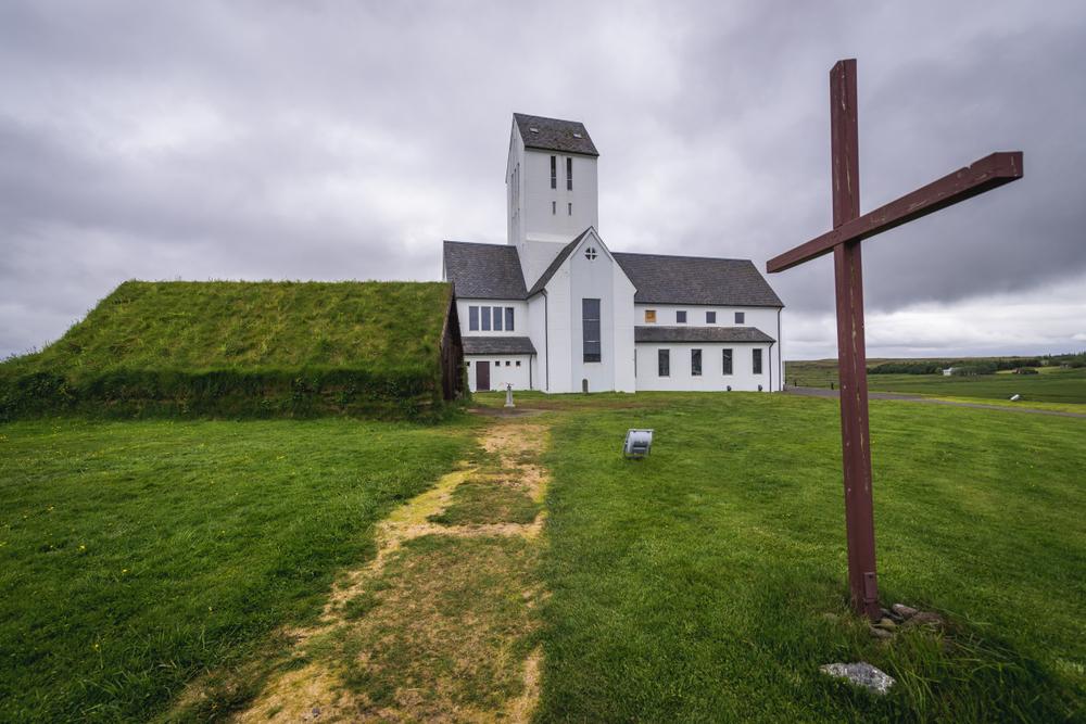 Ia iglesia de Skalholt está entre las más curiosas de islandia