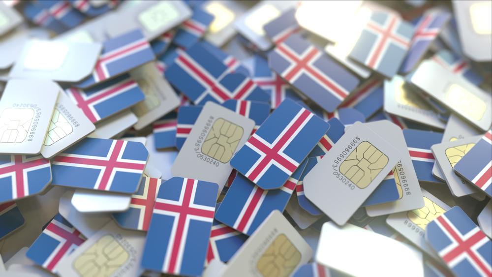 Tarjeta SIM en Islandia a montones
