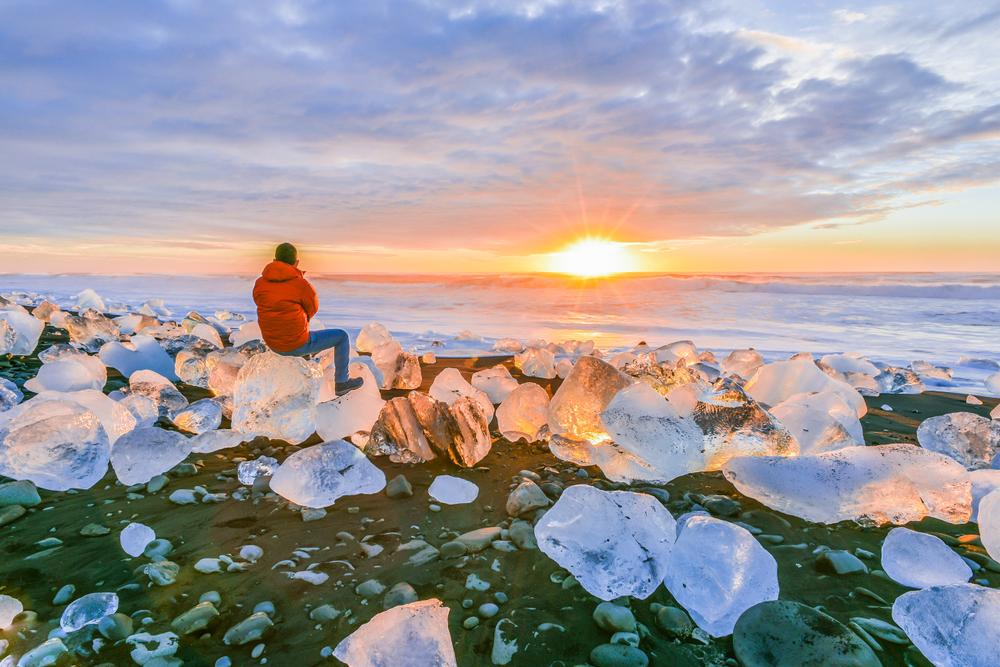 Playa de diamantes - Viajando por el sur de Islandia