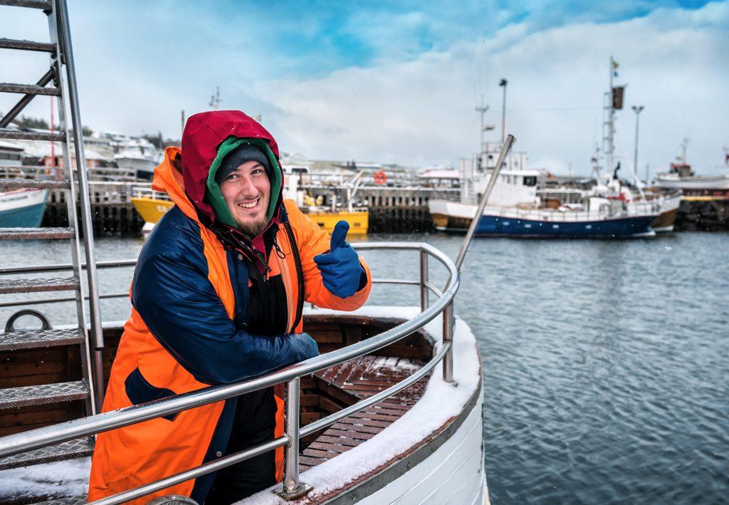 Pesquero en un barco islandés - El bacalao y la pesca en Islandia