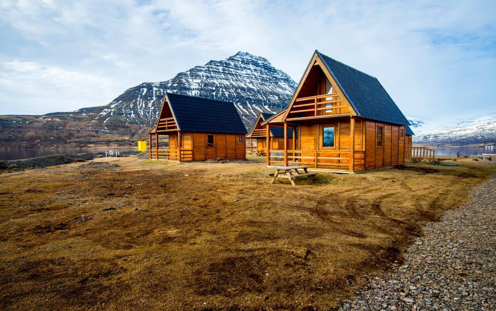 Cabaña de madera en Islandia - Airbnb en Islandia: Los 5 mejores alojamientos de alquiler