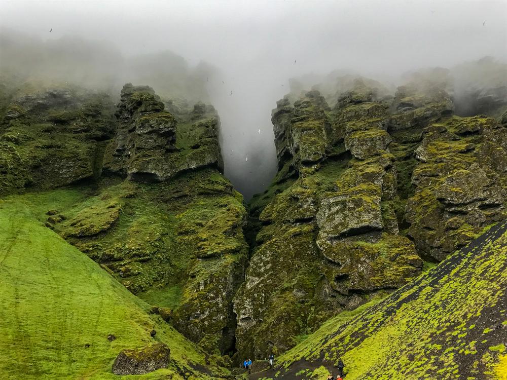 Impresionantes vistas del cañon de Rauðfeldar