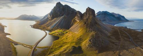 Vista panorámica de Islandia - Circuitos Islandia: ¿Qué rutas hay por la isla?