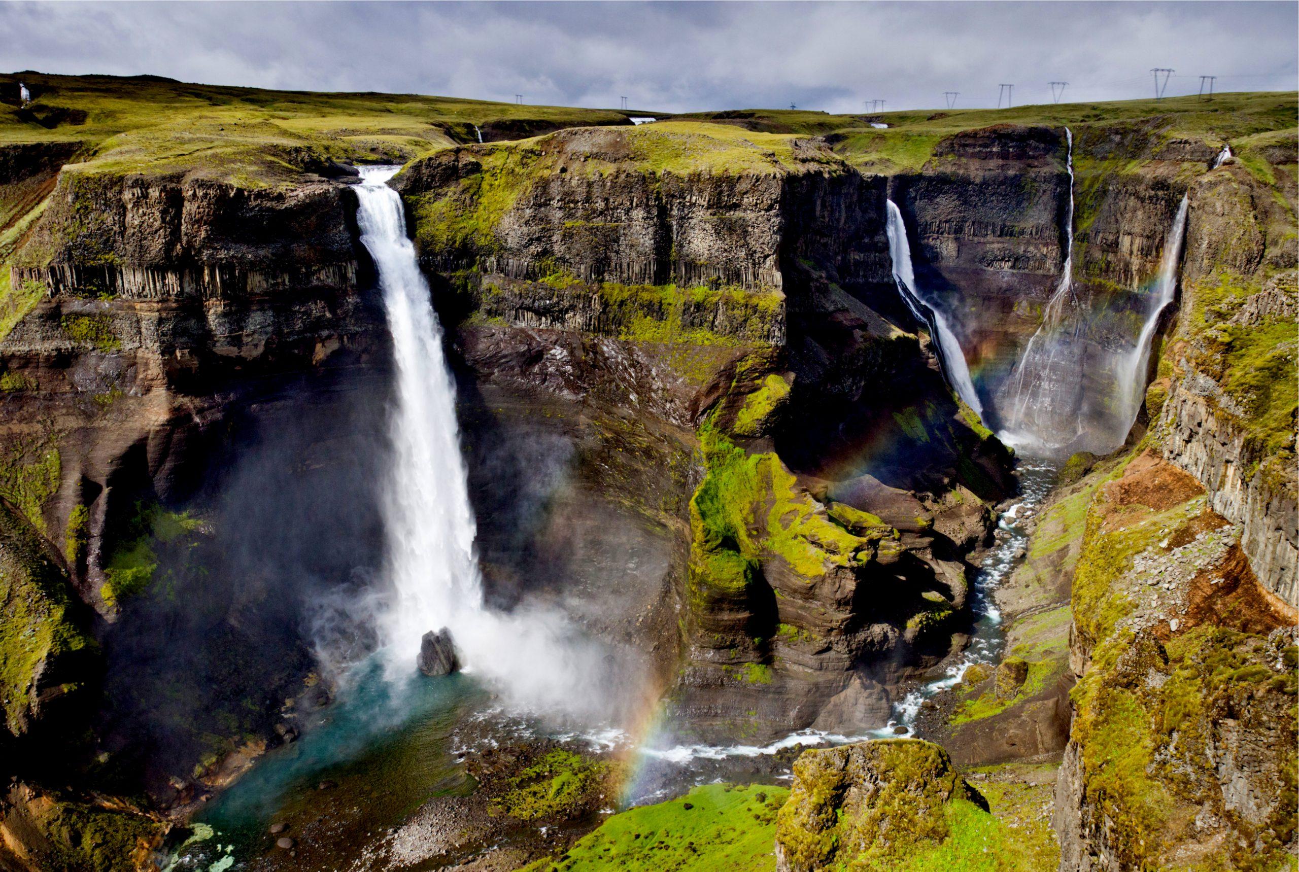 Háifoss - La cascada más alta de Islandia