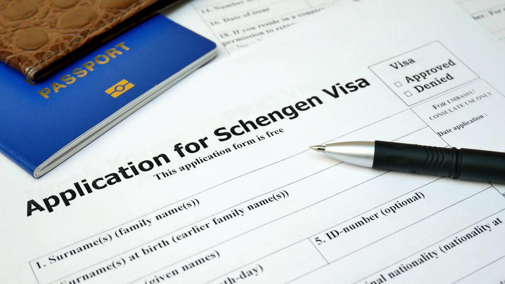 Formulario para solicitar el visado Schengen a Islandia